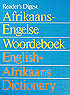 Afrikaans-Engelse woordeboek English-Afrikaans dictionary